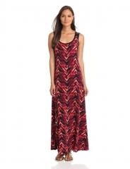 Printed maxi dress by Calvin Klein at Amazon