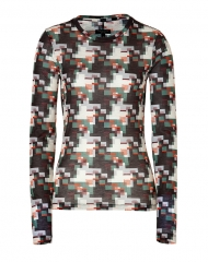 Printed top by Rag and Bone at Stylebop