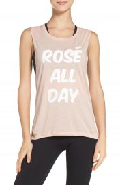 Private Party Ros   All Day Jersey Muscle Tee at Nordstrom