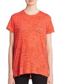 Proenza Schouler - Cotton Tie-Back Printed Tee at Saks Fifth Avenue