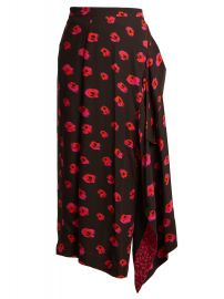 Proenza Schouler Flower-print crepe skirt at Matches