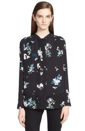 Proenza Schouler Print Silk Georgette Blouse at Nordstrom
