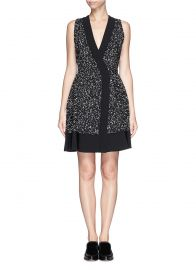 Proenza Schouler Splatter Print Dress at Lane Crawford