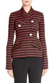 Proenza Schouler Stripe Jacquard Jacket at Nordstrom