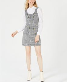 Project 28 NYC Embroidered Plaid Dress at Macys