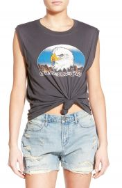 Project Social T Eagle Graphic Muscle Tank at Nordstrom