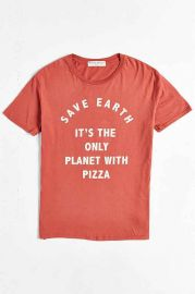Project Social T Save Earth Pizza Tee at Urban Outfitters