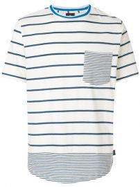 Ps By Paul Smith Mixed-stripe T-shirt at Farfetch
