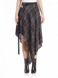 Public School - Danen Plaid Wool Blend Skirt at Saks Fifth Avenue
