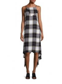 Public School - Lilu Plaid Dress at Saks Fifth Avenue