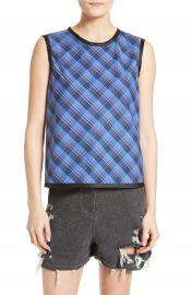 Public School Dalya Plaid Top at Nordstrom