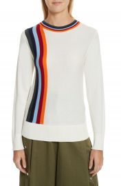 Public School Nell Stripe Cotton Blend Sweater at Nordstrom
