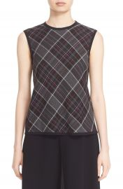 Public School Sleeveless Plaid Top at Nordstrom