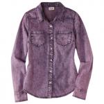 Purple denim shirt at Target at Target
