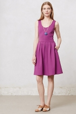 Purple dress like Pennys at Anthropologie