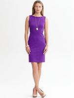 Purple dress like Victorias at Banana Republic