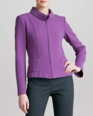 Purple jacket by Armani at Neiman Marcus