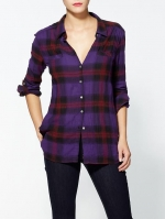 Purple plaid shirt like Lilys at Piperlime