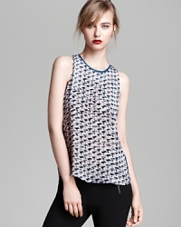 Puzzle print top by Marc by Marc Jacobs at Bloomingdales