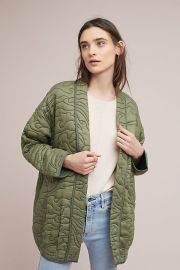 Quilted Kimono Jacket at Anthropologie