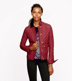 Quilted Tack Jacket at J. Crew