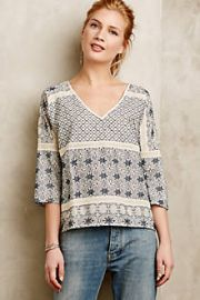 Quincy Top at Anthropologie