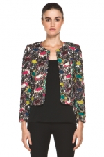 Quinn's jacket by Alice and Olivia at Forward by Elyse Walker
