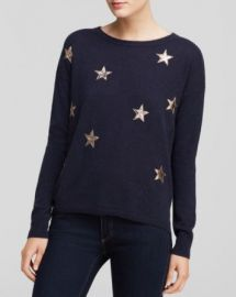 Quotation Sweater - Bloomingdaleand039s Exclusive Leather Star Cashmere at Bloomingdales