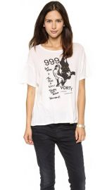 R13 Graphic Vintage Tee at Shopbop
