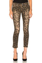 R13 Kate Skinny in Leopard   FWRD at Forward