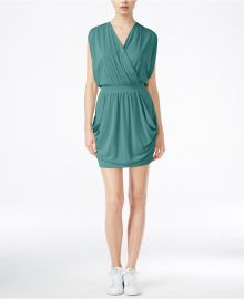RACHEL Rachel Roy 24-Hour Sleeveless Draped Dress in Mermaid at Macys