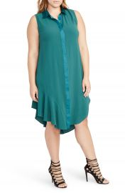 RACHEL Rachel Roy Combo Shirtdress  Plus Size at Nordstrom