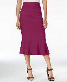 RACHEL Rachel Roy Jacquard Midi Skirt  Only at Macy s at Macys