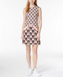 RACHEL Rachel Roy Sleeveless Printed Sweater Dress Pink at Macys