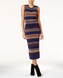 RACHEL Rachel Roy Textured Space Dyed Sweater Dress at Macys