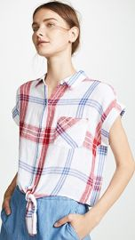 RAILS Amelie Button Down Shirt at Shopbop