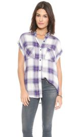 RAILS Britt Button Down Shirt at Shopbop