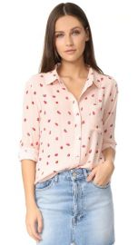 RAILS Rocsi Strawberries Button Down Shirt at Shopbop