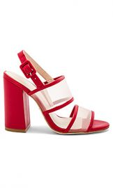 RAYE x House Of Harlow 1960 Sommers Heel in Red from Revolve com at Revolve