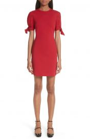 RED Valentino Tie Sleeve Sheath Dress at Nordstrom