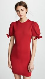RED Valentino Bow Sleeve Detail Dress at Shopbop