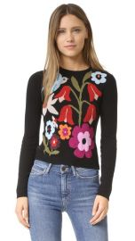 RED Valentino Intarsia Sweater at Shopbop