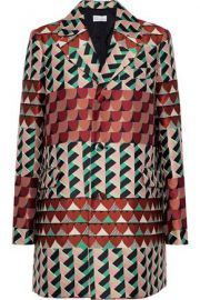 RED Valentino Jacquard Coat at The Outnet