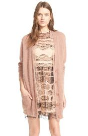 RED Valentino Maglia OversizedButton Cardigan at Nordstrom