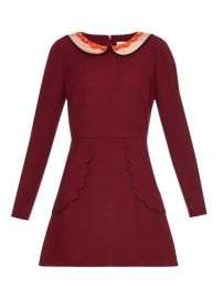 RED Valentino Scalloped Edge Dress at Matches