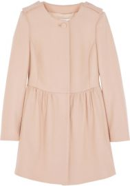 RED Valentino Wool Blend Coat at Net A Porter