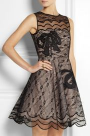 RED Valentino lace dress at Net A Porter