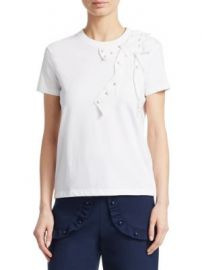 REDValentino - Cotton Jersey Tee at Saks Fifth Avenue