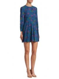REDValentino - Multi Pansy Mini Dress at Saks Fifth Avenue