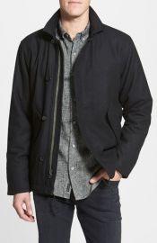 RVCA and39Deckand39 Wool Blend Jacket at Nordstrom